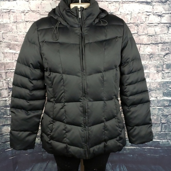 Calvin Klein Jackets & Blazers - Calvin Klein Down Hooded Puffer Jacket Medium
